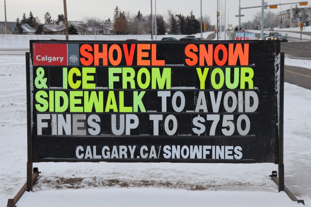 City of Calgary Snow Bylaws – The Facts